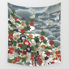Japanese pattern 80 Wall Tapestry