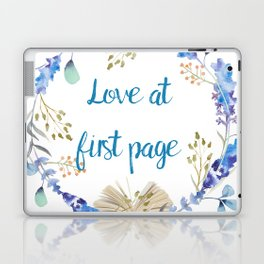 Love at first page Laptop & iPad Skin