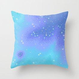 Twilight Nebula (8bit) Throw Pillow