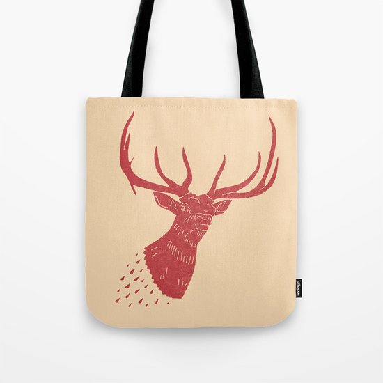 Taxidermied Elk Tote Bag