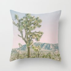 Joshua Tree Ombre Throw Pillow