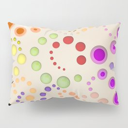 Abstract Composition 629 Pillow Sham