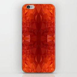 fire chrystal iPhone Skin