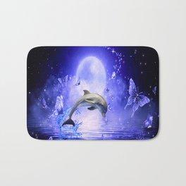 Dolphin & Butterflys Bath Mat