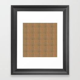 Cork Framed Art Print