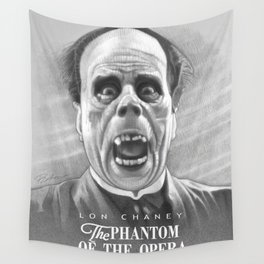 Erik Unmasked Wall Tapestry