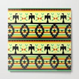 American Native Pattern No. 119 Metal Print