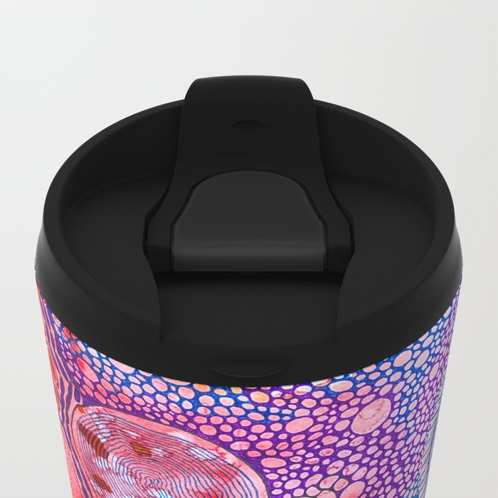 Bacterial world Metal Travel Mug