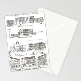 Fletcher's History of Architecture (1946) - Italian Renaissance - Palazzo Pitti, Florence Stationery Cards