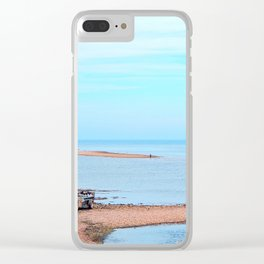 Island's End and Beyond Clear iPhone Case