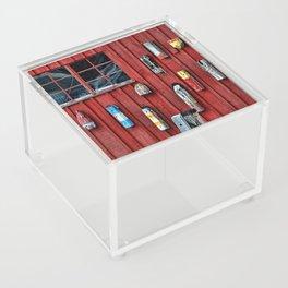 Red Wall Buoy Acrylic Box