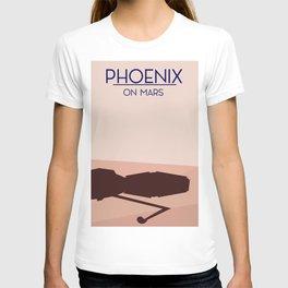 Phoenix lander on mars T-shirt