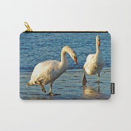 Swans On Walkabouts  Carry-All Pouch