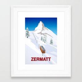 Zermatt Framed Art Print