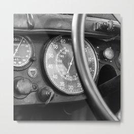 Vintage Car 3 Metal Print
