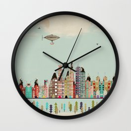 visit minneapolis minnesota Wall Clock