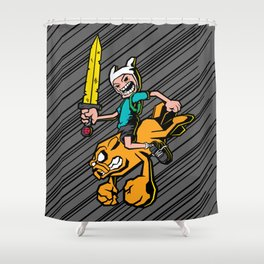 Time bomb! Shower Curtain