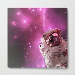 Astral Astronaut Metal Print