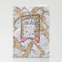 cookie Stationery Cards featuring Cookie by Kris alan apparel
