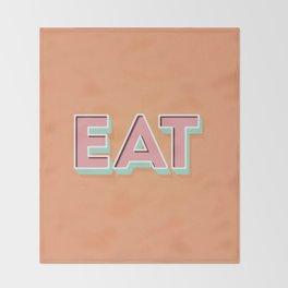 EAT EAT EAT Throw Blanket