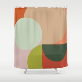 Abstract Geometric 2 #fallwinter #colortrend #decor Shower Curtain