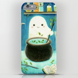 Ghost and potions iPhone Case