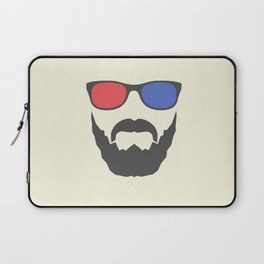 3D beard Laptop Sleeve