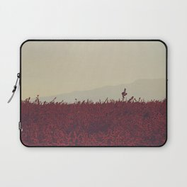 Field of Red Laptop Sleeve