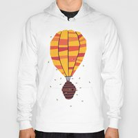 yetiland Hoodies featuring dangerous living by Yetiland