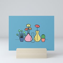 Plants Still Life Mini Art Print