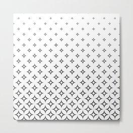 star pattern decoration geometric Metal Print
