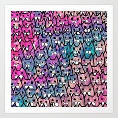 cat-84 Art Print