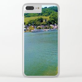 Moselle river Germany Clear iPhone Case