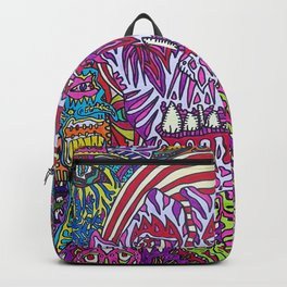 Boiling, Cutting, Twisting, Cropping Backpack
