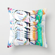 intoxicate Throw Pillow