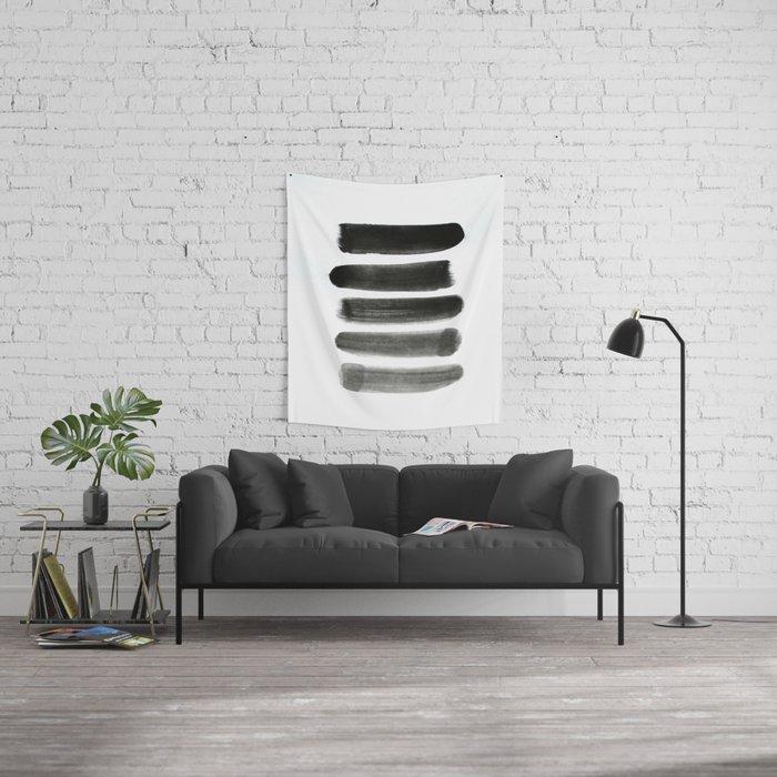 Shades of Gray Wall Tapestry