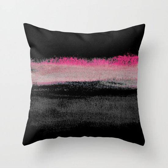 Silence Throw Pillow