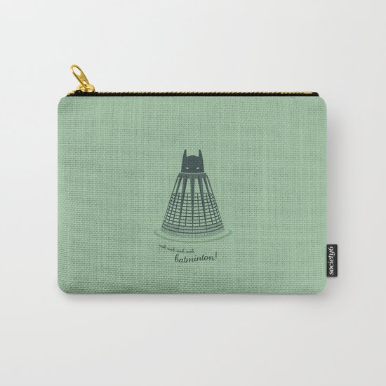Batminton Carry-All Pouch