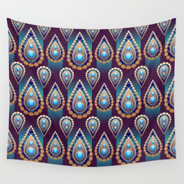 Turkish Blue Wall Tapestry