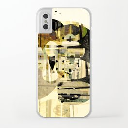 Composition Number Three Clear iPhone Case