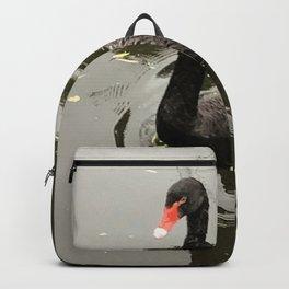 A black swan Backpack