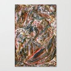 Greying Canvas Print