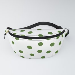 Simply Dots in Jungle Green Fanny Pack