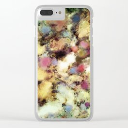 River bed Clear iPhone Case