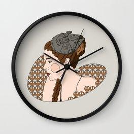 Leia - Rebel Princess  Wall Clock