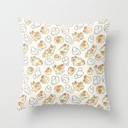 French Garlic Knot Throw Pillow