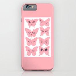 8 Butterflies iPhone Case