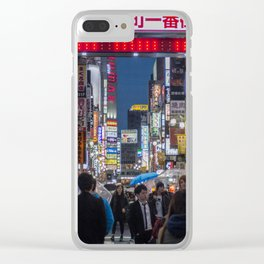 Tokyo Streets Clear iPhone Case