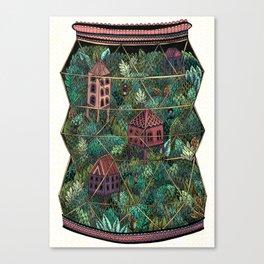 Terrarium Canvas Print