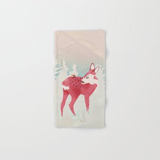 Oh deer, what the bug?! Hand & Bath Towel